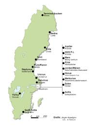Map Sweden Directions And Map Sweden Solar System