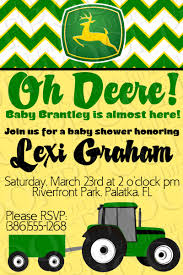 deere baby shower deere baby shower invitation would be for birthday