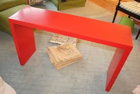 cosmopolitan style ikea hack diy upholstered malm console table in a ikeas plus matters table