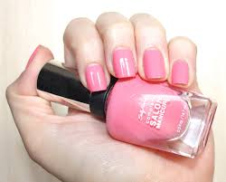 notd sally hansen complete salon manicure in 510 i pink i can