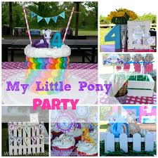 my pony party ideas my pony party home made interest