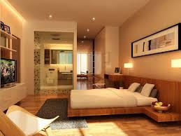 gorgeous beige bedroom nuance with splendid wood platform bed set