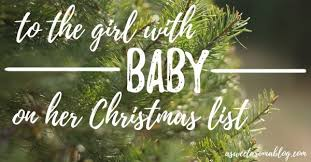 to the with baby on her christmas list today com