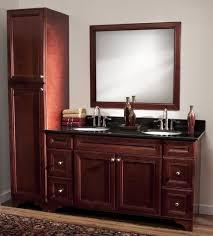 bathroom vanity with side cabinet impressive bathroom white floor mounted cabinet antique mirror
