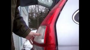 honda cr v tail light bulb replacement 2007 2012 youtube