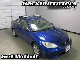 honda civic 2004 coupe honda civic 2 dr coupe thule rapid traverse silver aeroblade roof
