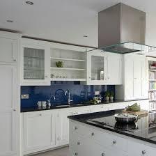 Shaker Kitchen Blue Acrylic Splashback Fabulous Kitchen N - Acrylic backsplash