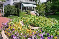 Summer House In Garden - home landscaping u0026 backyard stock photos images plant u0026 flower