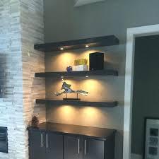 shelf with lights underneath floating shelf with light like this item floating shelves with