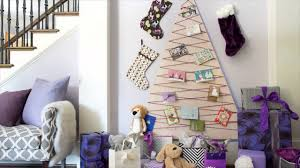 how to make a hanging christmas card holder youtube
