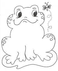 imagenes de un sapo para dibujar faciles dibujos de sapos para colorear y pintar