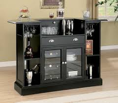 bar table with wine rack bar wine rack sosfund in tables prepare kitchen black how to
