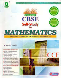 evergreen cbse self study in mathematics includes summative