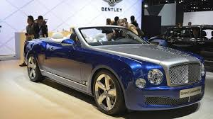 bentley black convertible bentley mulsanne convertible slated for 2016