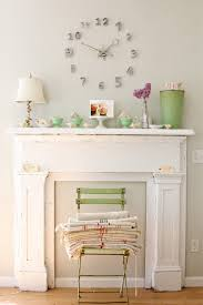 Shabby Chic Paint Colors For Walls by Looking Mantel Clocks In Living Room Shabby Chic With Faux