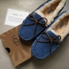 ugg slipper sale dakota 20 ugg shoes ugg dakota moccasins in blue size 8