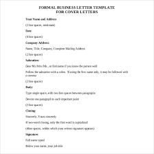 awesome collection of format of a formal letter pdf also format