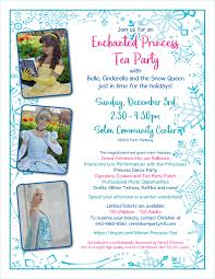winter princess tea party 12 3 2 30 4 30pm party411 events