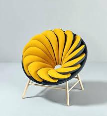chaise bureau jaune fauteuil scandinave jaune moutarde chaise bureau jaune daccoration