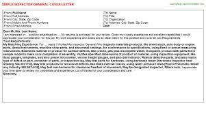 inspector general cover letter