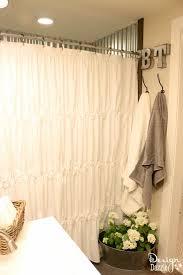 Ikea Flower Curtains Decorating Farmhouse Bathroom Ikea Style Design Dazzle