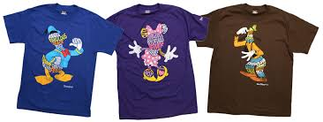 new shirts with character arriving this at disney parks