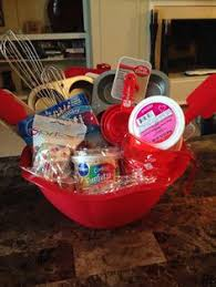 cupcake gift baskets cookie baking gift basket cutters mix measuring spoons wooden