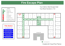 fire extinguisher symbol on floor plan hotel example fire escape plans house plan exit floor template