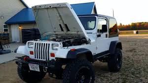 small jeep wrangler 1993 jeep wrangler small block chevy 350 converted youtube