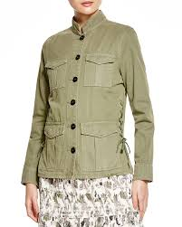 tory burch lace up side jacket bloomingdale u0027s
