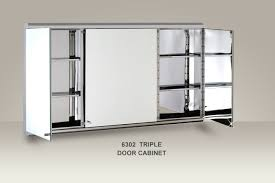 Stainless Steel Mirrored Bathroom Cabinet by Stainless Steel Mirrored Bathroom Cabinet