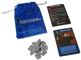 archer once you go blackmail love letter card game clamshell w