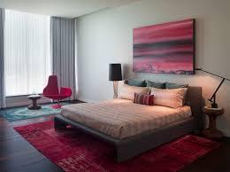 Modern Bedroom Rugs Overdyed Rugs In Modern Bedroom Deboto Home Design Inspired