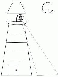 ocean lighthouse template