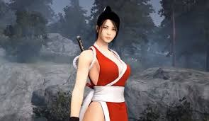 japanese online class mai shiranui returns with costume and kunoichi class in black
