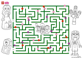 explore the amazing maze lego disney coloring pages printable