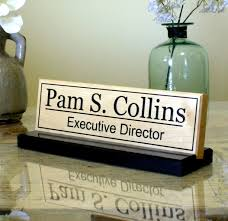 Name Plates For Office Desk Custom Desk Name Plates Home Furniture Decoration