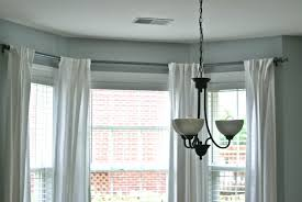next bay window pole sale curtains window treatments for kitchen