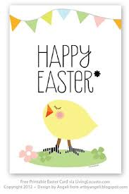 free easter cards free printable easter card easter ideas easter