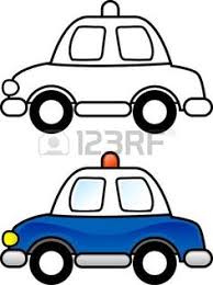 free printable car police car bus truck color