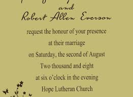 wedding invitation wording from and groom traditional wedding invitation wording awesome casual wedding