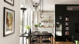 tiny white apartment small home designs under 50 square meters