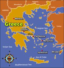 Meteora Greece Map by Ancient Greece By Jasper Lafferty