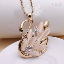 womens necklace pendants images Wholesale trail order gold pendant necklace opal and diamond jpg