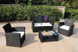 White Resin Wicker Patio Furniture - patio amusing outdoor wicker patio furniture sets patio wicker