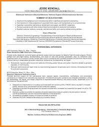 Electronic Technician Resume Sample 8 Technology Resume Template G Unitrecors