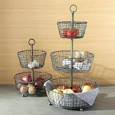 fruit basket stand fruit wire basket 3 tier wire basket stand tiered iron fruit