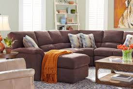 Small Leather Sofa With Chaise Furniture Lazyboy Sectional With Cool Various Designs And Colors