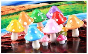 aliexpress com buy 8 pcs rainbow resin crafts micro landscape