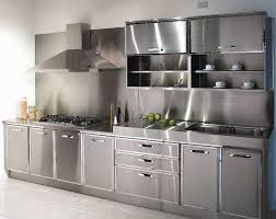 kitchen cabinet stainless steel best 25 stainless steel kitchen cabinets ideas on pinterest